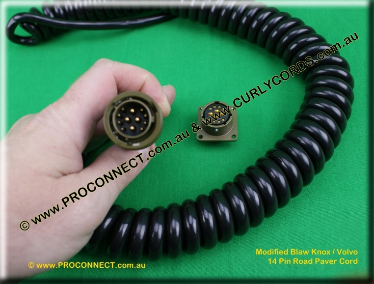 Modified Baw Knox Volvo Controller Curly cord 2