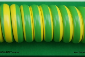 6mm earth curly cord