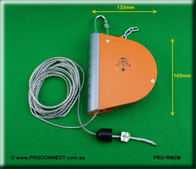 PROCONNECT PRO-RM2M CURLY CORD RETRACTOR