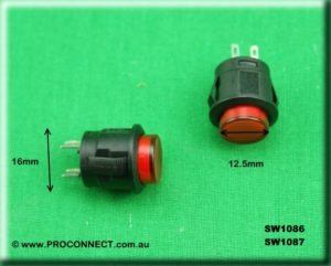 Push button switch SW1086 AND 1087